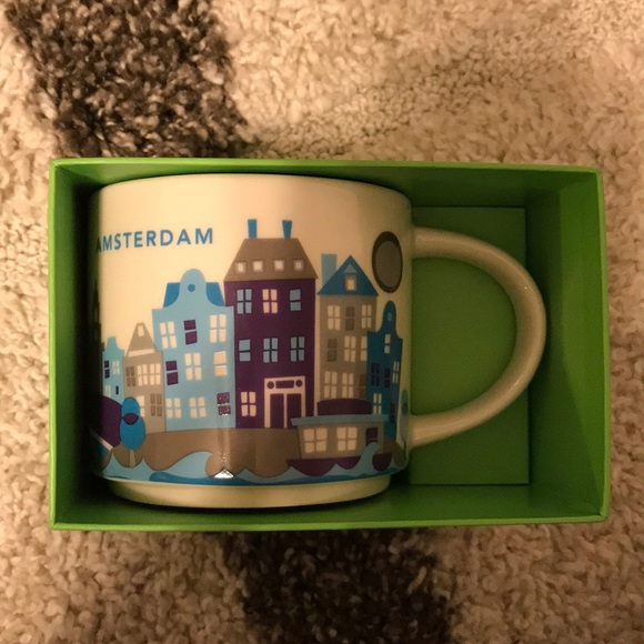 Here You Are Amsterdam Starbucks Mug zMSUVp